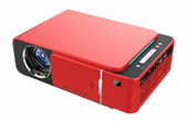 everycom t6 led red 2600 lumens hdmi android 4k 1080p beamer home theater projector