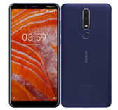 "nokia 3.1 plus 3gb 32gb blue octa core 13mp hdr fingerprint 6.0"" android 8.0 smartphone"