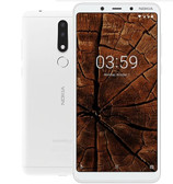 "nokia 3.1 plus 3gb 32gb white octa core 13mp hdr fingerprint 6.0"" android 8.0 smartphone"