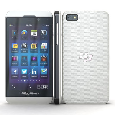 Blackberry Z10 White Color