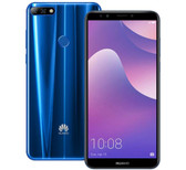 huawei y7 prime 3gb 32gb blue octa core 13mp fingerprint id dual sim android smartphone