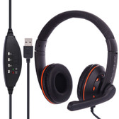 ovleng q5 mic volume orange control key computer plug usb  extra boss stereo headset