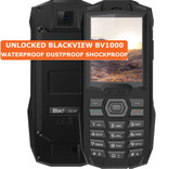 blackview bv1000 black waterproof dustproof shockproof camera fm bluetooth 2g phone