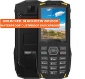 blackview bv1000 yellow waterproof dustproof shockproof camera fm bluetooth 2g phone