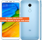xiaomi redmi 5 plus 3gb 64gb blue octa core 12mp fingerprint id android smartphone 4g