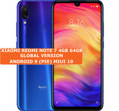 xiaomi redmi note 7 blue 4gb 64gb octa core 48mp fingerprint id android smartphone
