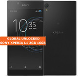sony xperia l1 2gb 16gb black quad core 13mp camera 5.5 inch android smartphone