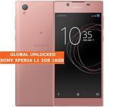 "sony xperia l1 g3313 2gb 16gb quad core 13mp 5.5"" android lte smartphone pink"