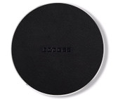 doogee c2 wireless charger leather portable compatible samsung xiaomi huawei led