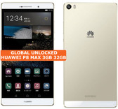 """huawei p8 max 3gb 32gb mystic champagne 13mp hdr dualsim 6.8"""" android smartphone"""