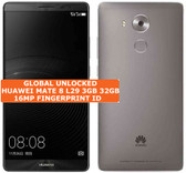 """huawei mate 8 nxt-l29 3gb 32gb gray 16mp fingerprint 6.0"""" android smartphone Lte"""