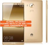 """huawei mate 8 nxt-l29 3gb 32gb gold 16mp fingerprint 6.0"""" android smartphone Lte"""