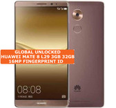 "huawei mate 8 nxt-l29 3gb 32gb brown 16mp fingerprint 6.0"" android smartphone Lte"