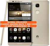 huawei ascend mate 7 3gb 32gb gold octacore 13mp fingerprint android smartphone