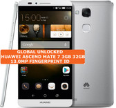 huawei ascend mate 7 3gb 32gb silver octacore 13mp fingerprint android smartphone