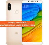 """xiaomi redmi note 5 gold 6gb 128gb octa core 5.99"""" dual sim android lte smartphone"""