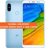 """xiaomi redmi note 5 blue 6gb 128gb octa core 5.99"""" dual sim android lte smartphone"""