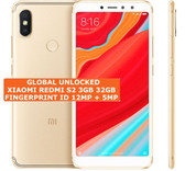 "xiaomi redmi s2 3gb 32gb gold octa core 12mp fingerprint 5.99"" android smartphone"