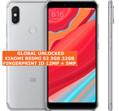 "xiaomi redmi s2 3gb 32gb gray octa core 12mp fingerprint 5.99"" android smartphone"
