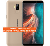ulefone p6000 plus 3gb 32gb gold quad core 8mp fingerprint android smartphone