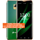 k-touch i10 3gb 64gb quad core green 5.0mp face unlock android 8.0 smartphone 4g