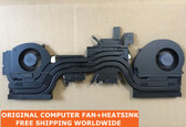 dell alienware 17 r5 alw17c(r5) cpu vacuum copper for cooler fan + heatsink