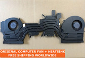 dell alienware 17 r5 alw 17c cpu vacuum copper for cooler fan + heatsink