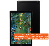 """3g phone call tablet pc black 4gb 32gb octa core wifi dual sim 10.1"""" android 7.0"""