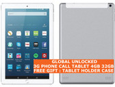 "3g phone call tablet pc silver 4gb 32gb octa core wifi dual sim 10.1"" android 7.0"