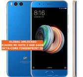 """xiaomi mi note 3 6gb 64gb blue octa core 12mp finger id 5.5"""" android smartphone"""