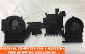 alienware 15r3 p69f cpu gpu vacuum copper cooling fan + heatsink