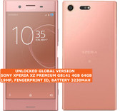 "sony xperia xz premium g8141 4gb 64gb 19mp fingerprint id 5.49"" android lte pink"