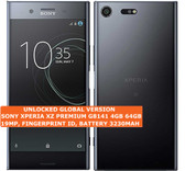 "sony xperia xz premium g8141 4gb 64gb 19mp fingerprint id 5.49"" android lte black"