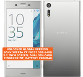 "sony xperia xz f8332 3gb 64gb quad-core 23mp fingerprint 5.2"" android platinum"