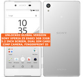 "sony xperia z5 e6683 3gb 32gb dual sim 23mp fingerprint id 5.2"" android 4g white"