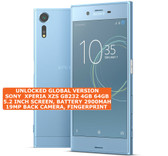 "sony xperia xzs g8232 4gb 64gb quad core dual sim 19mp 5.2"" android 4g blue"