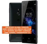 "sony xperia xz2 h8216 4gb 64gb octa-core 19mp fingerprint 5.7"" android 4g black"
