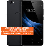 "vivo y66 3gb 32gb octa core 16mp selfie camera 5.5"" android lte smartphone black"