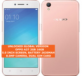 oppo a37 2gb 16gb quad core dual sim 8.0mp led flash 5.0 inch android rose gold
