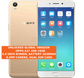 oppo a37 2gb 16gb quad core dual sim 8.0mp led flash 5.0 inch android lte gold