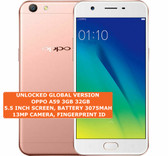 oppo a59 3gb 32gb octa-core 13mp fingerprint id 5.5 android smartphone rose gold