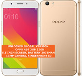 oppo a59 3gb 32gb octa-core 13mp fingerprint id 5.5 android smartphone lte gold