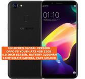 "oppo f5 youth a73 4gb 32gb octa-core dual sim 13mp fingerprint 6"" android black"