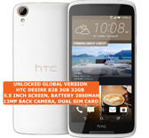 "htc desire 828 3gb 32gb octa core 13mp led flash 5.5"" android smartphone white"