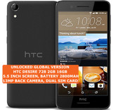 "htc desire 728 2gb 16gb octa-core 13mp camera 5.5"" android lte smartphone black"