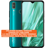 "leagoo s11 4gb 64gb octa core 13mp fingerprint 6.3"" android 9 smartphone emerald"