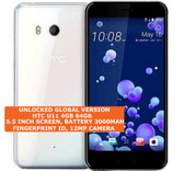 "htc u11 4gb 64gb octa-core 16mp dual sim 5.5"" android 9.0 smartphone lte white"