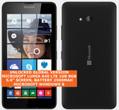 "microsoft lumia 640 8gb quad-core 8mp camera 5.0"" windows phone smartphone black"