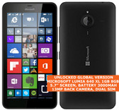 microsoft lumia 640 xl ta-1096 8gb quadcore 13mp camera 5.7 windows phone black