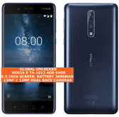 "nokia 8 ta-1012 4gb 64gb octa-core 13mp fingerprint 5.3"" android smartphone blue"